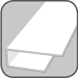 Dokončovací profil - Okrajový - olše