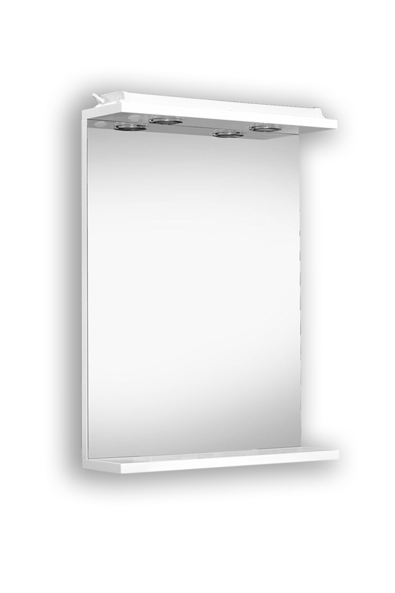 Zrcadlo LU-45, 55 - Zrcadlo s osvětlením LU-45